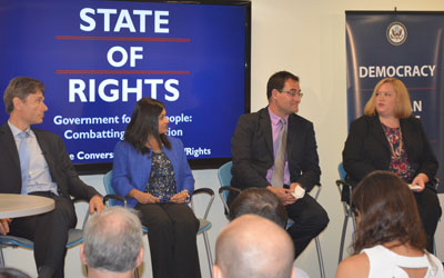 Heather Lowe on State Department Panel on September 3, 2014.