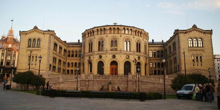 The Norwegian Parliament Building