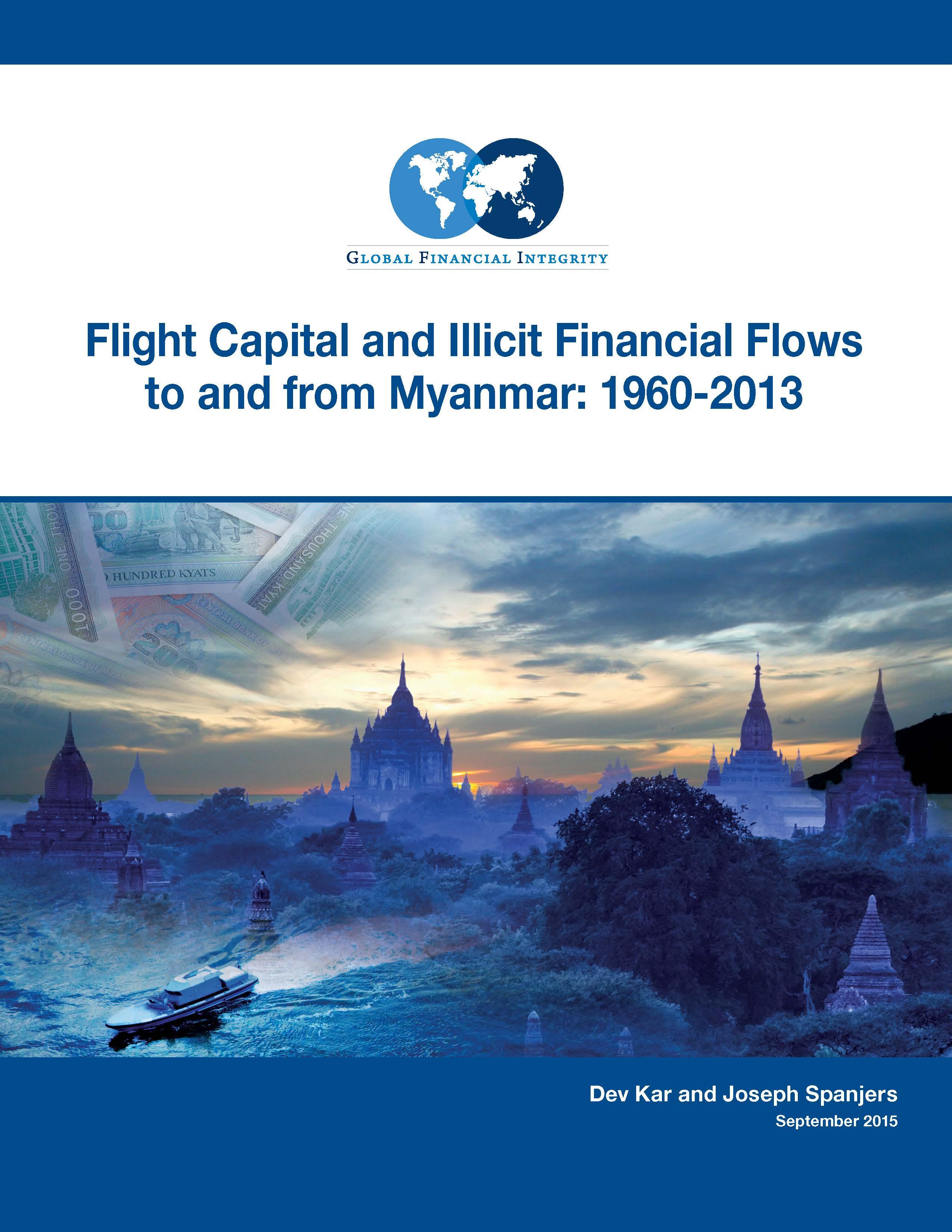 cover page image flight capital illicit financial flows myanmar 1960